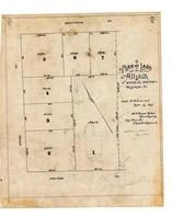 Athol St. and Holton St. 1892 Copy 1, Allston 1890c Survey Plans